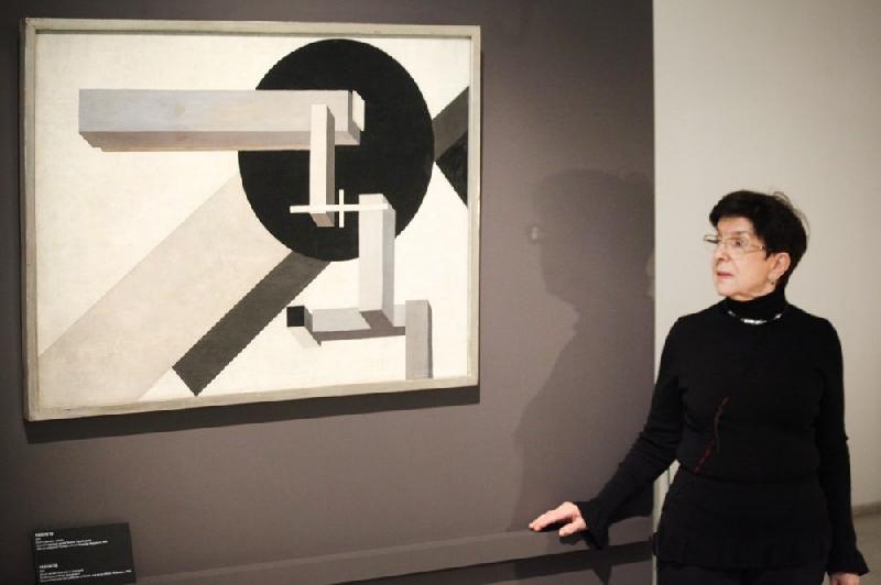 ВТретьяковской галерее открылась выставка авангардиста Эль Лисицкого