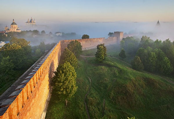 крепостная стена фото смоленск