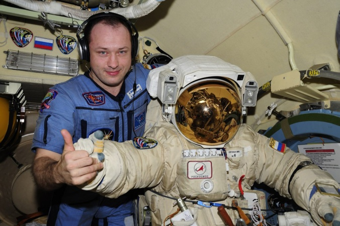 На Землю с МКС вернулись три космонавта