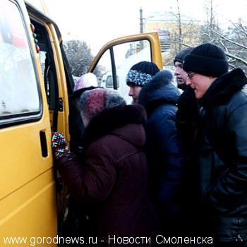 Схему движения маршруток Смоленска разрабатывали в Санкт-Петербурге.