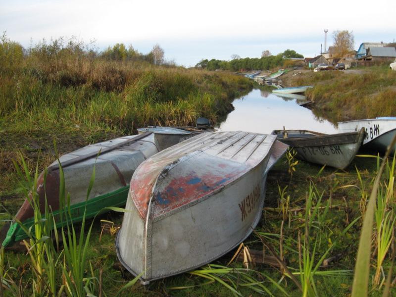 лодку перевернуло