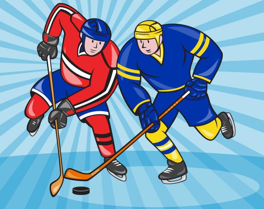 Картинка хоккей детская